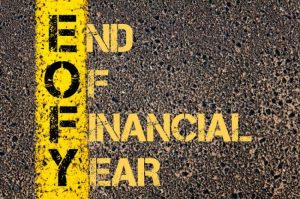 As The End of the Financial Year Arrives