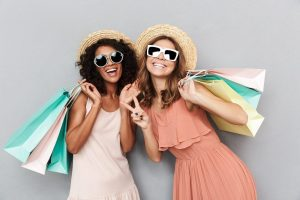 """""""Women Shopping. Paying with Afterpay and Zip Pay. Will It Impact Credit Score""""