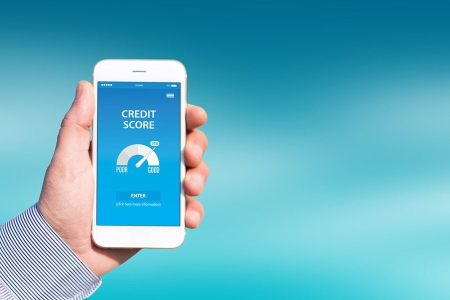 the difference between credit score and credit report