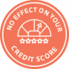 No effect on your credit score