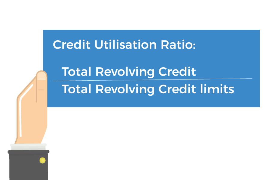 credit utilisation ratio