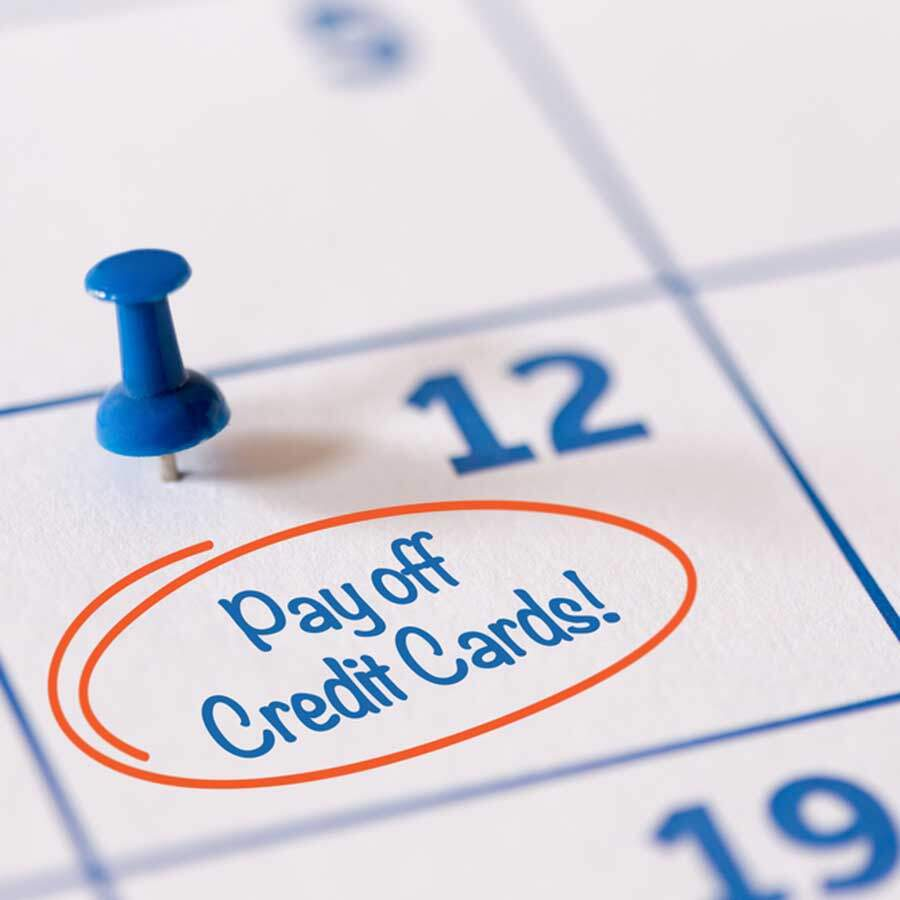 Pay off high interest credit cards first