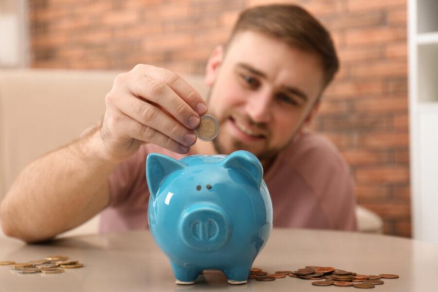 save money to improve bad credit
