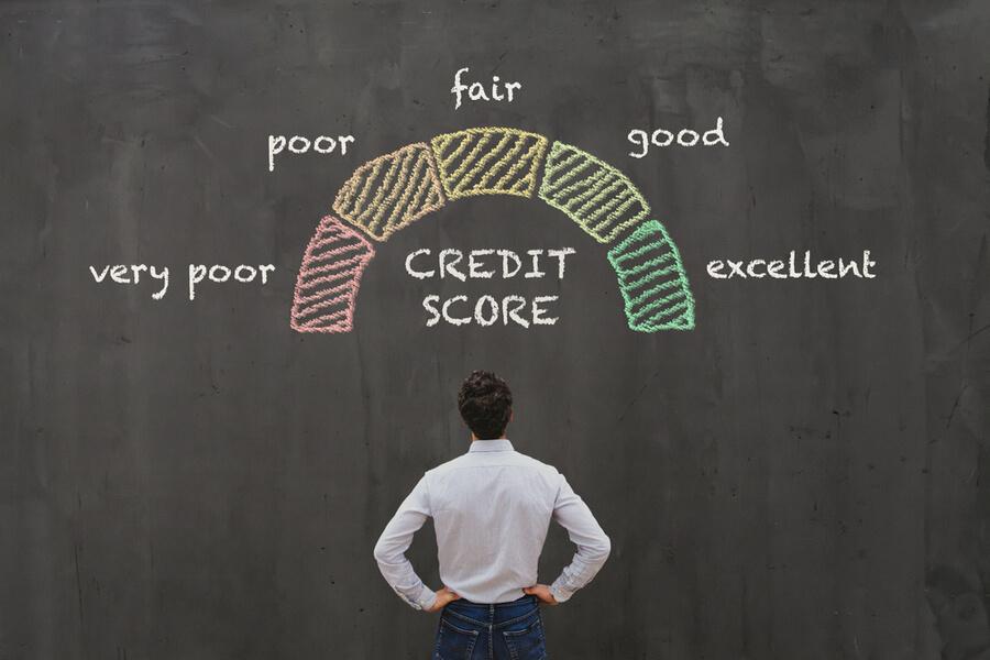 credit score affected credit card