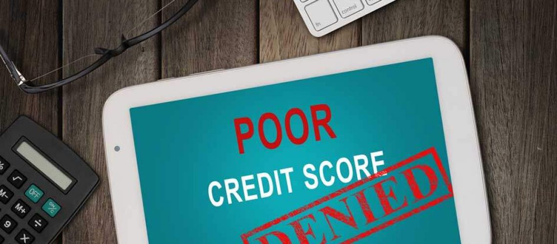 ||the side effects of having bad credit||